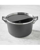 Calphalon Premier Space Saving Hard Anodized Nonstick Stock Pot with Cover, 12-Qt.