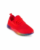 Wanted Women's Felicity Stretch Knit Sneakers - Red