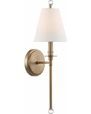 Crystorama Riverdale 6 Inch Wall Sconce - RIV-382-AG