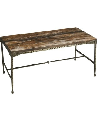 Gratton Collection 2884120 Coffee Table with Transitional Style Rectangular Shape and Acacia Wood in Mountain Lodge