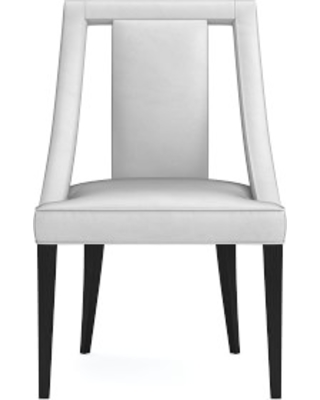 Strange Sussex Dining Side Chair Como Leather Grey Ebony Leg Andrewgaddart Wooden Chair Designs For Living Room Andrewgaddartcom