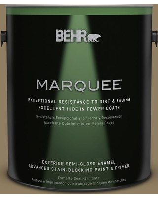 BEHR MARQUEE 1 gal. #PPU7-03A Sofisticata Semi-Gloss Enamel Exterior Paint and Primer in One