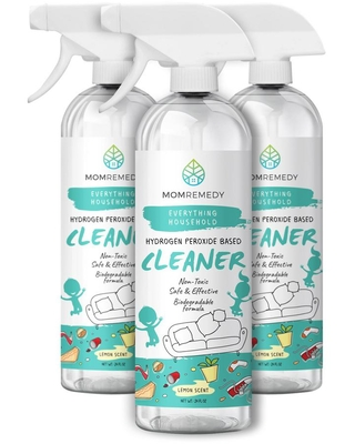MOMREMEDY 24 oz. All-Purpose Cleaner Spray Hydrogen Peroxide Based Cleaner (3-Pack)