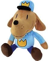 "MerryMakers Dog Man Giant Plush, 21"" Total Including Legs"