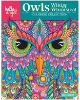 Fox Chapel Publishing Coloring Books - Hello Angel Owls Wild & Whimsical Coloring Book