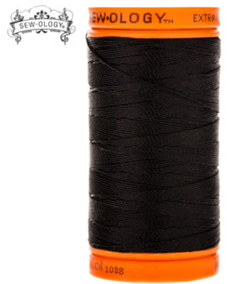 Black Extra Strong Bonded Nylon Upholstery Thread