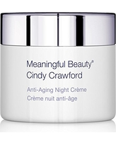 Meaningful Beauty – Anti-Aging Night Crème – with Peptides, Jojoba & Almond Oil – 1.7 Ounces – MT.2066