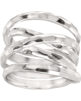 Silpada 'Wrapped Up' Sterling Silver Ring, Size 10