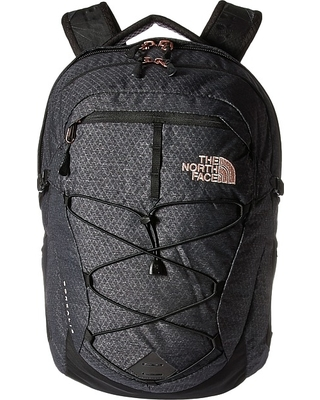 71b108f790d1 The North Face The North Face - Women's Borealis (TNF Black Heather/Burnt  Coral Metallic) Backpack Bags from Zappos | ShapeShop