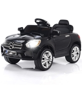Costway 6V Kids Ride On Car RC Remote Control Battery Powered w/ LED (Assembly Required - 2-4 Years)