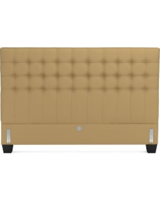 Fairfax Headboard Only, King, Faux Suede, Camel