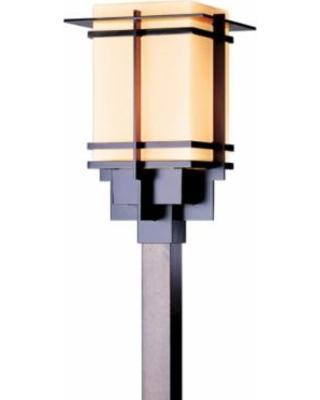 Hubbardton Forge Tourou 14 Inch Tall 1 Light Outdoor Post Lamp - 346011-1015