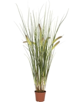 Nearly Natural Grass Plant Green (2.5)