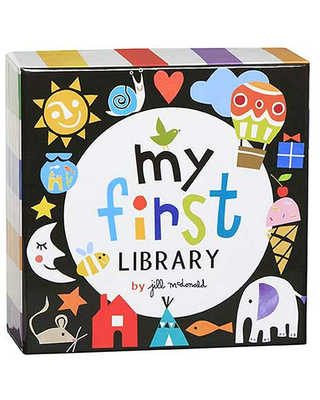 My First Library Board Book Set - Baby Toys & Gifts for Babies - Fat Brain Toys