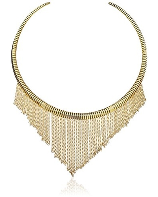 Ettika Come Hither Antique Gold Choker Necklace, 16""