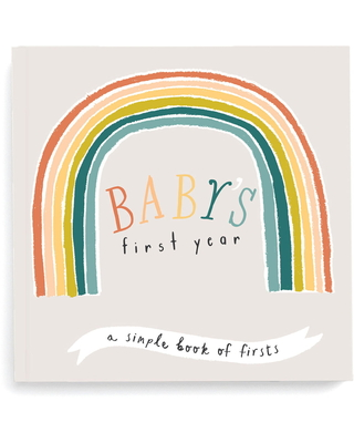 Lucy Darling 'Baby's First Year' Little Rainbow Memory Book, Size One Size - None