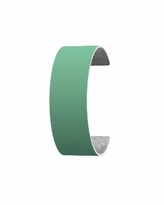Les Georgettes by Altesse Reversible Wide 25mm, 1in Leather Band Insert - Aqua/Glitter