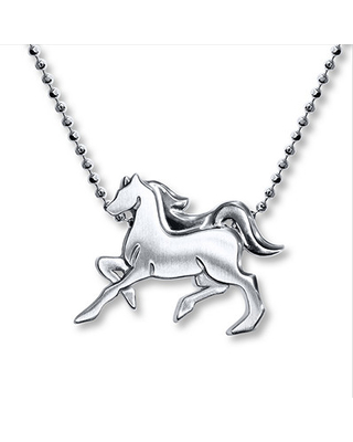 Alex Woo Necklace Horse Sterling Silver