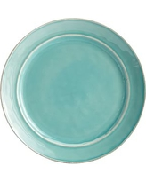 Cambria Salad Plate, Set of 4, Turquoise