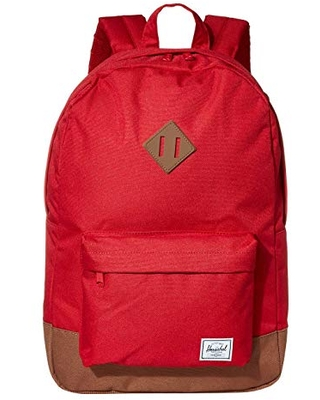 Herschel Supply Co. Heritage (Red/Saddle Brown) Backpack Bags
