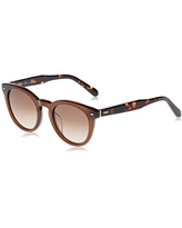 Fossil Women's FOS2060s Sunglasses, BROWN, 48 mm