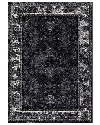 15 Off Sussexhome Area Rugs Homeward Collection Oriental Rug For Living Room Family Rooms 5 X 7 5 X 7 4161 Black