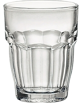 Bormioli Rocco Rock Bar Stackable 2oz Shot Glass - Set of 6, Clear