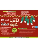 LED Pure White Holiday Lights 200l M5 Halloween Decoration