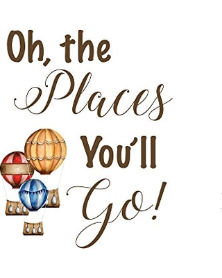 Oh The Places You Ll Go Quote Print Dr Seuss Nursery