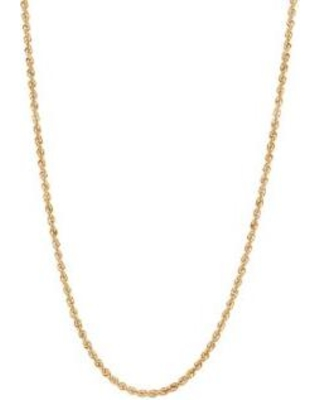 Belk & Co. Yellow Gold Chain Necklace in 14K Yellow Gold