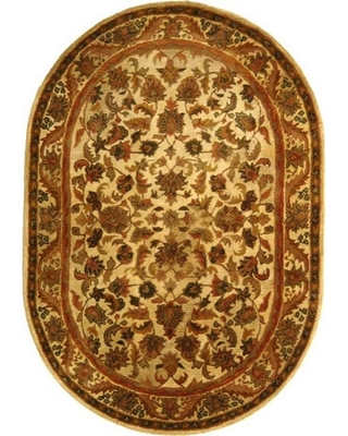 Safavieh Antiquity Gold 8 ft. x 10 ft. Oval Area Rug