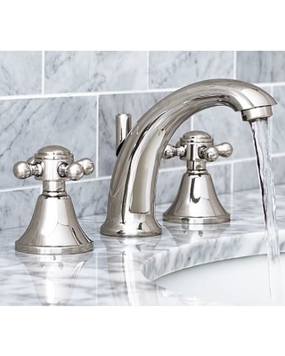 Huge Deal on Warby Cross-Handle Widespread Bathroom Faucet, Polished ...
