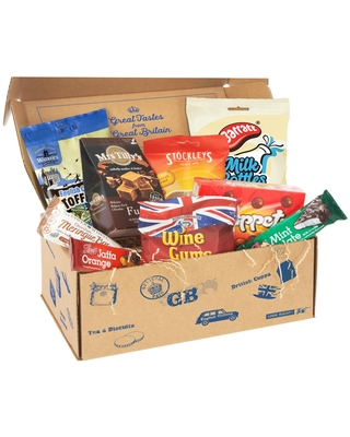 British Confectionery Food Gift Box by World Market