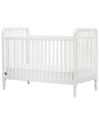 Million Dollar Baby Classic Liberty 3-in-1 Convertible Spindle Crib in Warm White