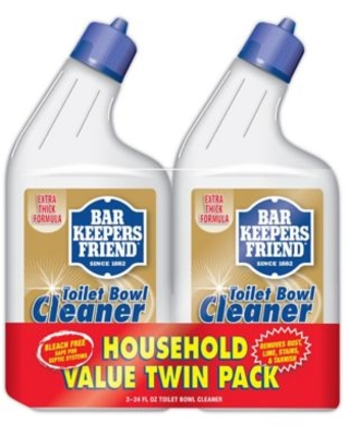 Bar Keepers Friend® 24 oz. Toilet Bowl Cleaner Twin Pack