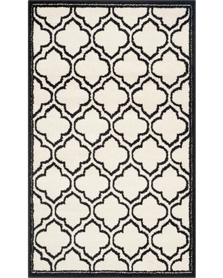 4'x6' Coco Loomed Rug Ivory/Anthracite - Safavieh