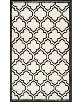 Coco 4'x6' Indoor/Outdoor Rug - Ivory/Anthracite (Ivory/Grey) - Safavieh