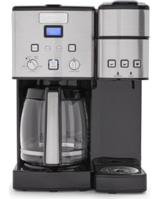 146e21c66 Cuisinart SS-15 Maker Coffee Center 12-Cup Coffeemaker and Single-Serve  Brewer