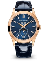 Patek Philippe COMPLICATIONS Automatic Blue Dial Watch 5396R-015