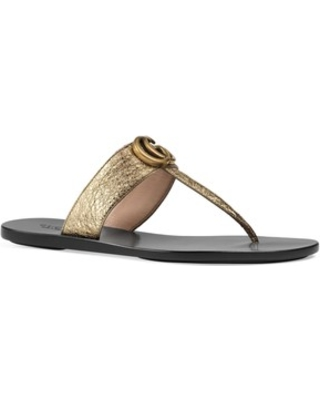 e14cf89605d Here s a Great Price on Women s Gucci Marmont T-Strap Sandal