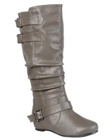 Brinley Co. Womens Casual Boot