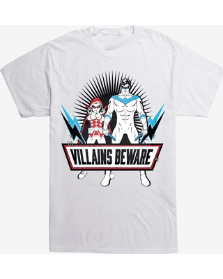 DC Comics Batman Villains Beware T-Shirt