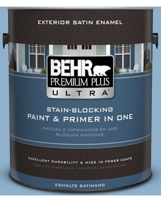 The Best Sales For Behr Ultra 1 Gal M510 3 Sailors Knot Satin Enamel Exterior Paint And Primer In One