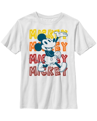 Disney Mickey Mouse Hipster Mickey Youth T-Shirt