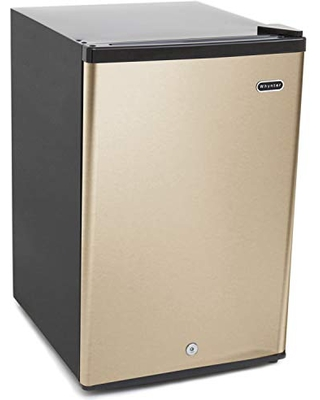 Whynter CUF-210SSG Rose Gold 2.1 cu.ft Energy Star Upright Freezer with Lock