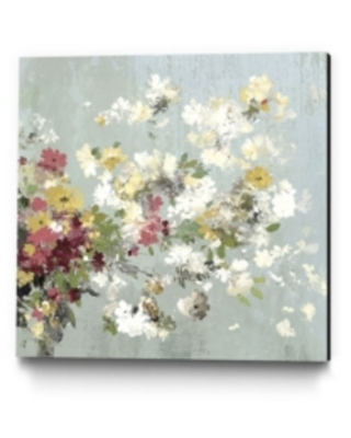 """Giant Art 30"""" x 30"""" Abstract Bouquet Ii Museum Mounted Canvas Print"""