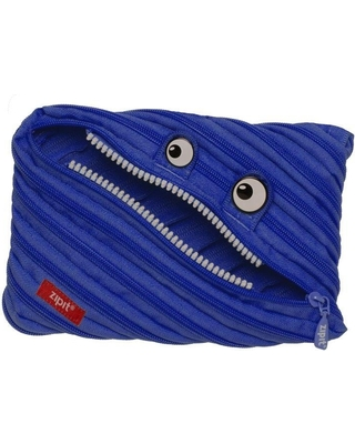 Monster Jumbo Pouch - Blue