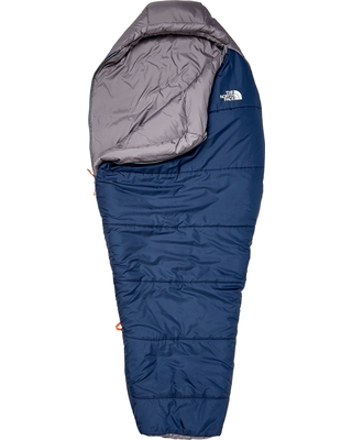 The North Face Youth Wasatch 20° Sleeping Bag, Cosmic Blue/Asphalt Grey