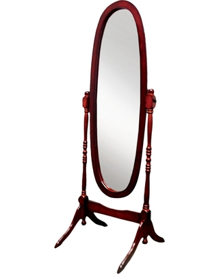 Cheval Mirror Ore International-Cherry, Red