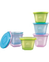 NUK Stackable Baby Food Cups - 6pc
